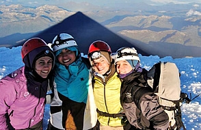 Ascenso Volcan Lanin